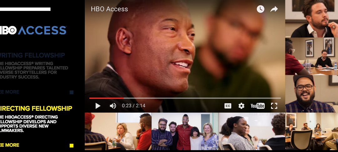 Pete Chatmon Selected for HBO Access