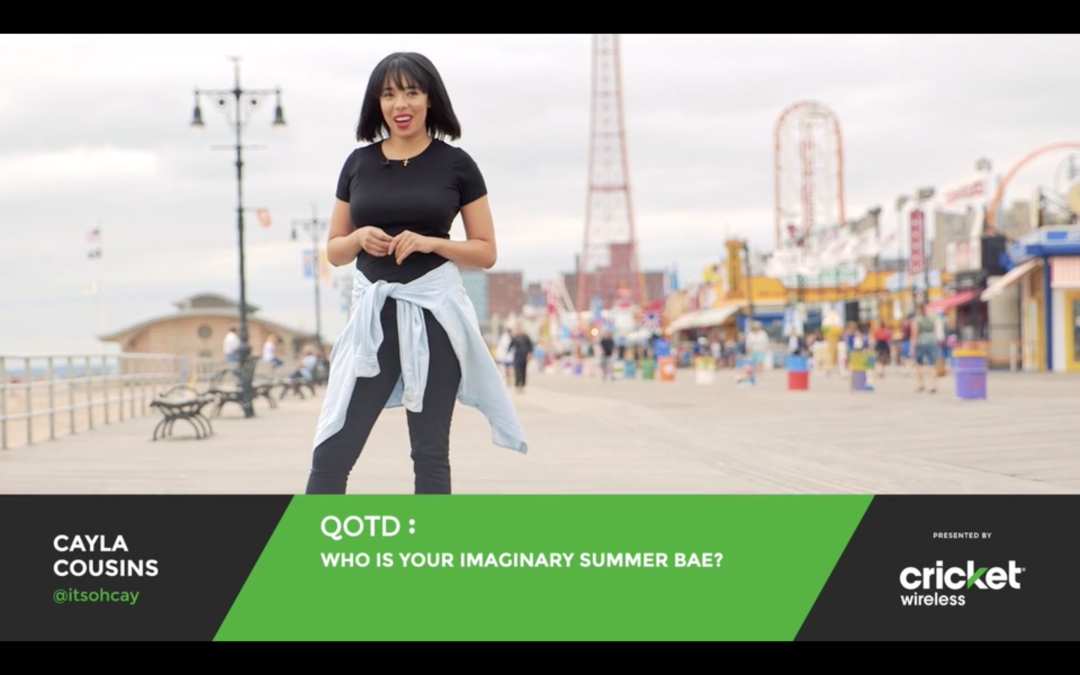 Cricket Wireless   Question of the Day